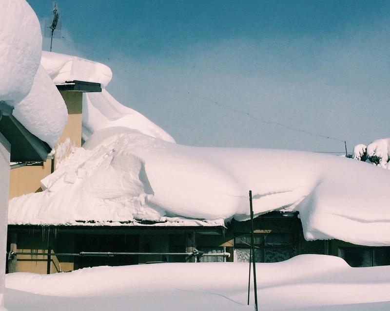 2メートルの積雪